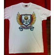Печать на футболке фото