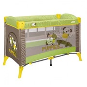 Манеж детский Just4kids ARENA 2L+ (green beige puppies) фото