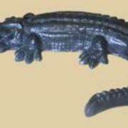 Декоративный элемент Крокодил фото