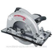 Пила дисковая 1900Вт, 75мм, 210/30мм, 5000/мин, 6,4кг Интерскол ДП-210/1900М фото