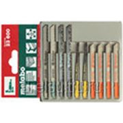 Пилки для лобзиков Metabo Набор лобзиковых полотен 3, H+M+синт., 10-частный 623600000 фото