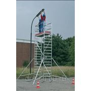 Лестницы-трапы Krause Переход из алюминия угол наклона 45° количество ступеней 10,ширина ступеней 600 мм 826091 фото