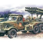 Модель ICM 1/72 BM-14-16 Реактивная система залпового огня