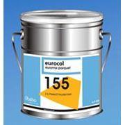 Эластичный полиуретановый клей 2-х компонентный для всех видов паркета Forbo 155 Euromix Parquet (7.875 кг) фото
