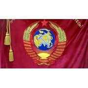 Вышивка флагов знамён фото