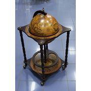 Напольный глобус бар диаметр глобуса 42 см фото
