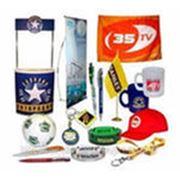 подборка и нанесение логотипа на сувениры фото