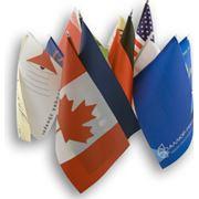 Изготовление флагов флажков фото