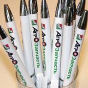Полноцветная печать на ручках фото