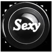 Пукли, пластиковые, черные, дизайн Sexy, 12 шт. фото
