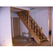 Одномаршевые лестницы фото