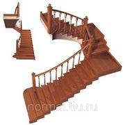 Зашитая лестница классическая фото