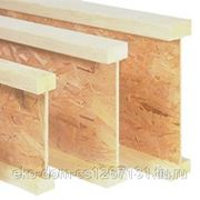 Двутавровая деревянная балка фото