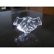 Производство сувениров из стекла на заказ фото