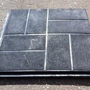 Покрытие напольное резиновое 500х500х40мм фото