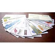 Печать визиток фото