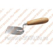 БИБЕР 35401 Кельма штукатурная 60мм / BIBER 35401 Кельма штукатурная 60мм Нержавеющая сталь фото