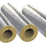 Изоляция трубопроводов кашированными минераловатными цилиндрами 289/80 мм LINEWOOL фото