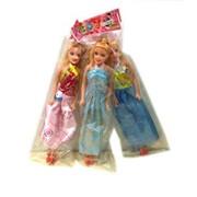Кукла 11 простая в платье в пак.,100798724/NN фото