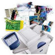 Печать цифровая оперативная: каталоги календари меню визитки фото