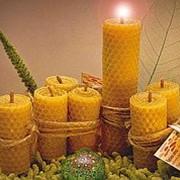 Свеча из вощины вес 17 грамм