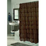 Шторка для ванной carmen коричневая (868105) фото