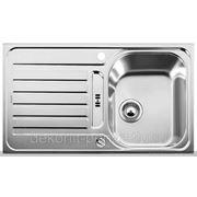 """Кухонная мойка """"Blanco"""" Lantos 45s/-if, полированная сталь"""