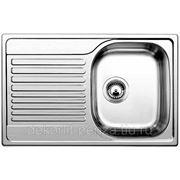 "Кухонная мойка ""Blanco"" Tipo 45 s compact, матовая сталь фото"