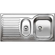 "Кухонная мойка ""Blanco"" Tipo 6 s basic, палированная сталь фото"