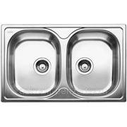 "Кухонная мойка ""Blanco"" Tipo 8 compact, матовая сталь фото"
