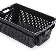 Ящик овощной пластиковый 600х400х150 фото
