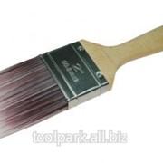 Кисть флейцевая 63мм Ультра 2,5 , смешанная натур.+искусствен.щетина, дер. ручка ф01196 фото