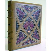 Переплет книг из натуральной кожи фото