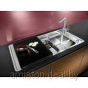 Кухонная мойка из нержавеющей стали BLANCO STATURA 6 S-IF (для монтажа в один уровень со столешницей) фото