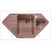 Мойка GranFest GF-C950E 2 секционная мойка с отверстием под смеситель фото