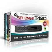 Тюнер для цифрового DVB-T2 SELENGA Т42D(пл/дисп/кн) WIFI адаптер фото