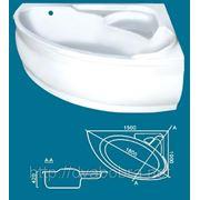 Ванна акрилова LEXUS 150*100 (есть разные рамеры) фото
