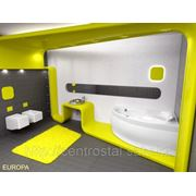Акриловая ванна угловая асимметричная EUROPA 170x115 POOLSPA (Польша-Испания)