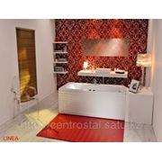 Акриловая ванна прямоугольная LINEA 150x70 POOLSPA (Польша-Испания)