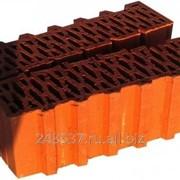 Блок керамический Porotherm 44 1/2 поризованный фото