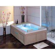 СПА-бассейн с гидромассажем декор. кожей для самых близких WS- S020 Размер: 2040х1540 , глубина 650мм фото