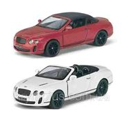 "Машина метал.""Kinsmart"" KT5353W ""Bentley Continenta"", в кор. 12см (шт) фото"