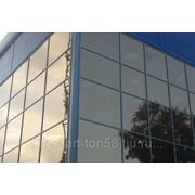 Тонирование стекол зданий фото