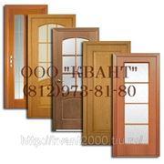 Двери из массива лиственницы