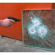 Бранированное стекло Триплекс фото