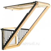 Окно-балкон Cabrio GDL (Балкон в мансарде без надстроек) фото