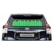 Зеленый Авто эквалайзер / автоэквалайзер на заднее стекла автомобиля, размером 70*16 см фото