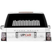 Белый Авто эквалайзер / автоэквалайзер на заднее стекла автомобиля, размером 70*16 см фото