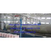Комплектная индустриальная линия по производству стеклопластиковых труб фото