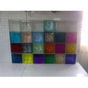 Стеклоблок Цветной/бесцветный в ассортименте фото